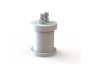 PTFE容器,円筒容器